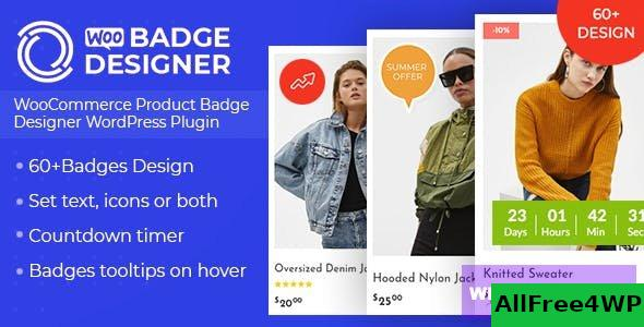 Woo Badge Designer v3.0.4 - WooCommerce Product Badge Designer WordPress Plugin