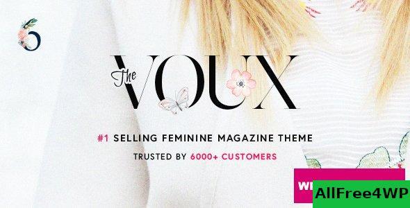 Download 🔝 The Voux v6.6.5.4 - A Comprehensive Magazine Theme