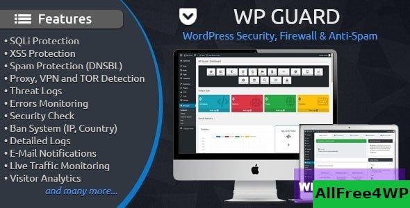 WP Guard v1.5 - Security, Firewall & Anti-Spam plugin for WordPress