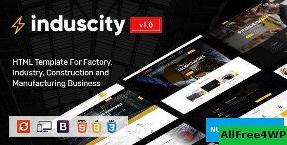 Induscity v1.0 - Industry and Construction HTML Template