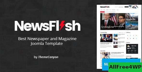 NewsFlash v1.2 - Joomla News & Magazine Template