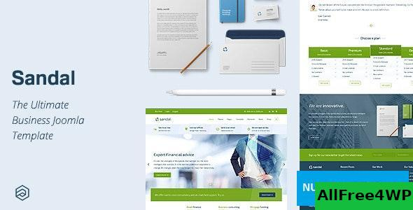 Sandal v2.4.2 - Ultimate Responsive Business Joomla Template