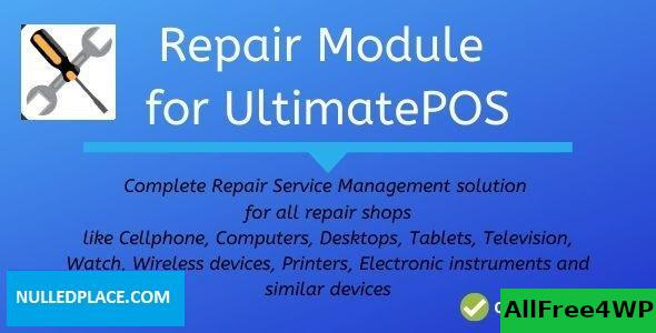 Advance Repair module for UltimatePOS v0.9