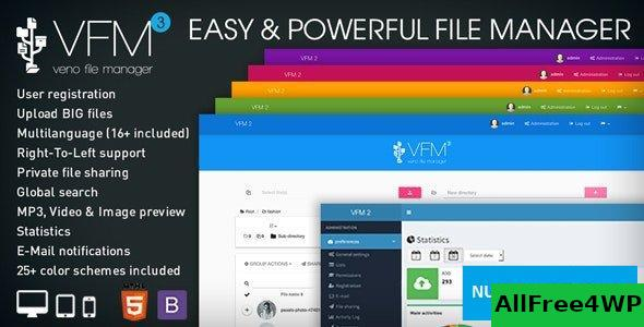 Veno File Manager v3.7.1 - host and share files