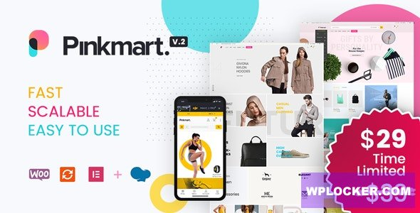 Pinkmart v2.8.1 - AJAX theme for WooCommerce