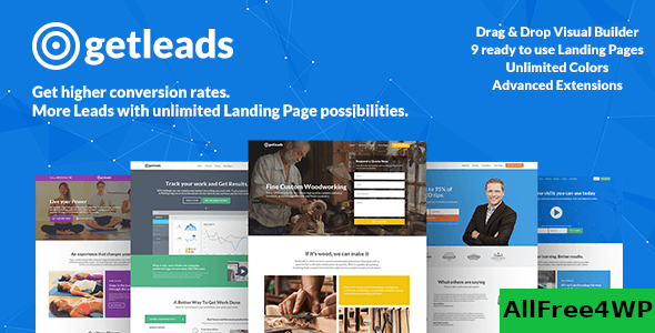 Getleads v2.0.0 - High-Performance Landing Page Theme