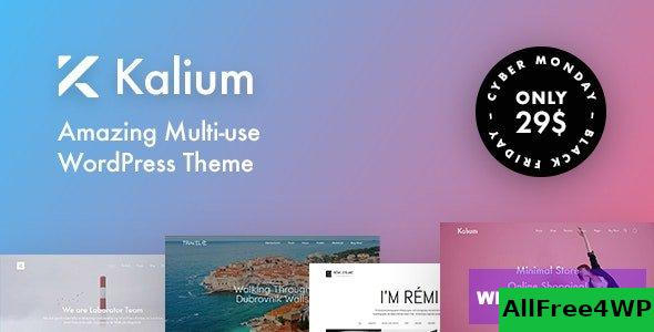 Kalium v3.1.3 - Creative Theme for Professionals
