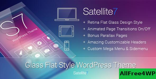 Satellite7 v3.2 - Retina Multi-Purpose WordPress Theme
