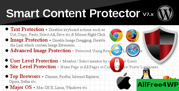 Smart Content Protector v8.3 - Pro WP Copy Protection