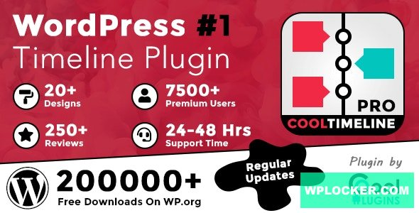Cool Timeline Pro v3.5.1 - WordPress Timeline Plugin