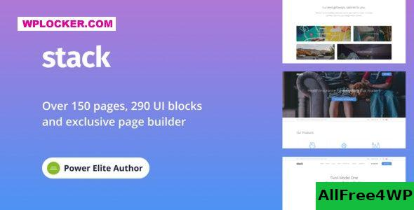 Stack v10.6.0 - Multi-Purpose Theme with Variant Page Builder
