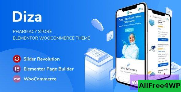 Diza v1.1.3 - Pharmacy Store Elementor WooCommerce Theme