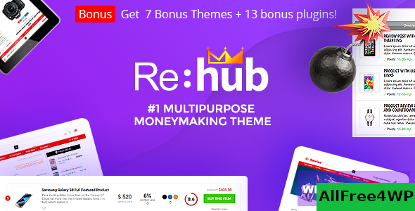 REHub v13.6.1 - Price Comparison, Business Community