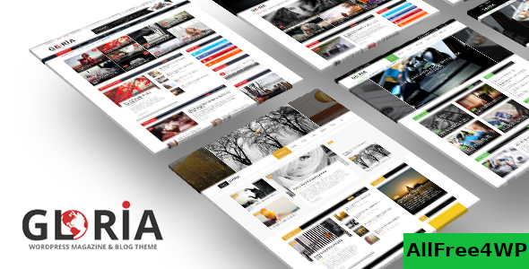 Gloria v2.5 - Multiple Concepts Blog Magazine