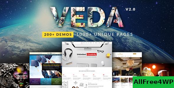 VEDA v3.4 - Multi-Purpose Theme