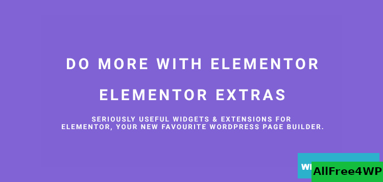Elementor Extras v2.2.43 - Do more with Elementor