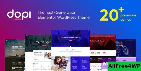 Dopi v1.2.2 - Elementor MultiPurpose WordPress Theme