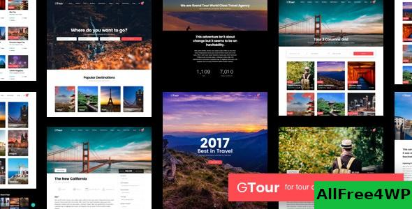 Grand Tour v4.9.1 - Tour Travel Wordpress Theme