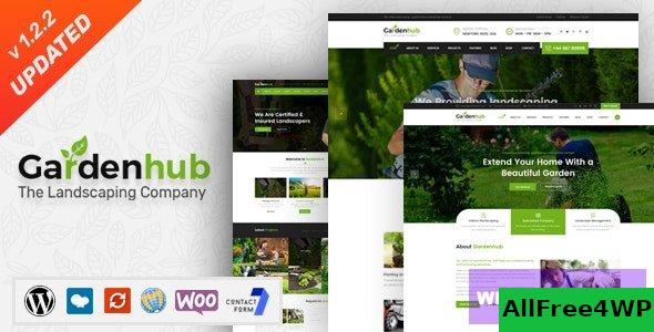 Garden HUB v1.2.5 - Lawn & Landscaping WordPress Theme