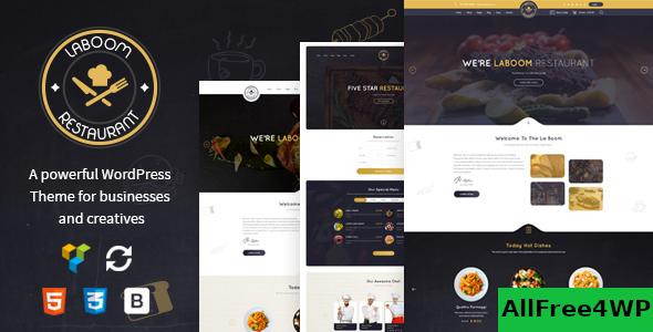 La Boom v2.5 - Food & Restaurant Bistro Theme