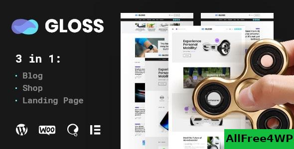 Gloss v1.0.2 - Viral News Magazine WordPress Blog Theme + Shop