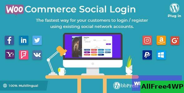 WooCommerce Social Login v2.3.4 - WordPress plugin