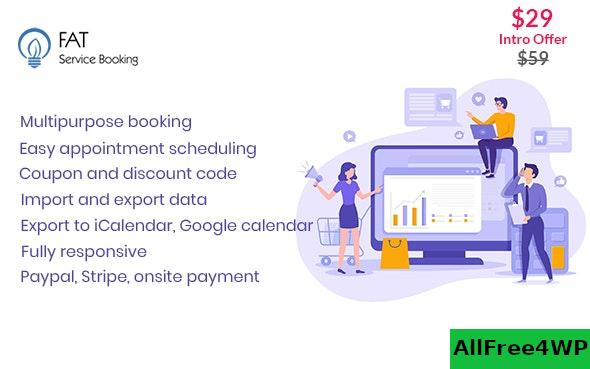 Fat Services Booking v3.3 - Automated Booking and Online Scheduling