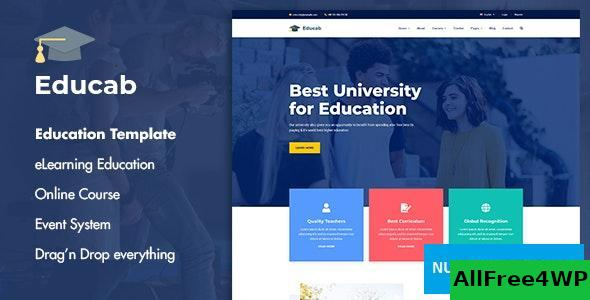 Educab v1.0 - University Education Joomla Template