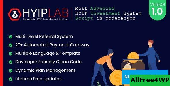 HYIPLAB v1.0 - Complete HYIP Investment System
