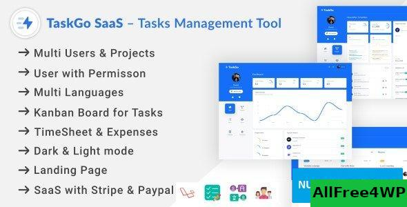 TaskGo SaaS v2.1.0 – Tasks Management Tool