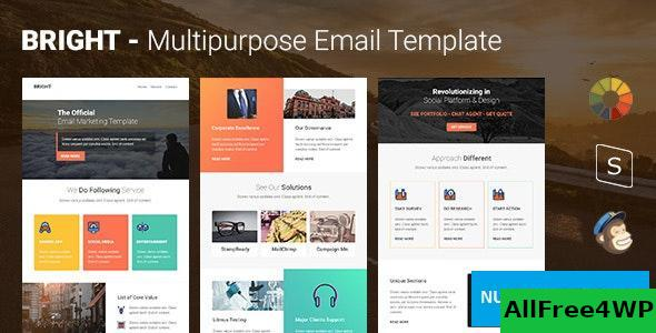 Bright v1.0 - Multipurpose Responsive Email Template