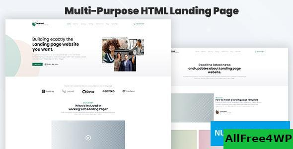 Legaland v1.0 - Multi-Purpose HTML Landing Page Template for Business and Marketing