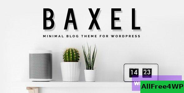 Baxel v5.0 - Minimal Blog Theme for WordPress