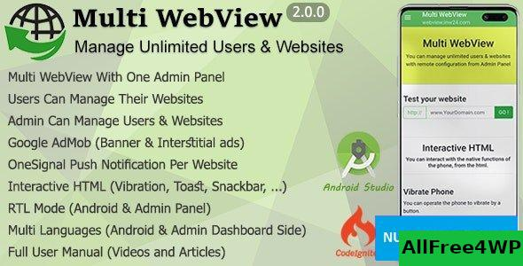 Multi WebView + Admin Panel v2.0
