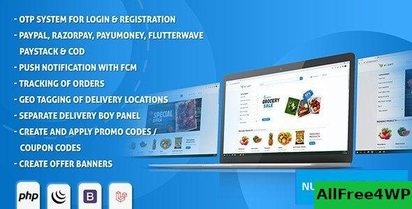 eCart Web v1.0.1 - Ecommerce/Store Full Website