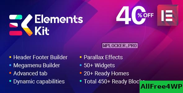 Download 🔝 ElementsKit v2.1.3 - The Ultimate Addons for Elementor Page Buildernulled