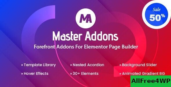 Download 🔝 Master Addons for Elementor (Pro) v1.5.6nulled
