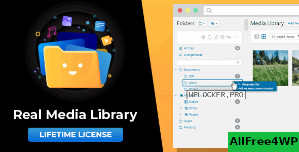 WordPress Real Media Library v4.12.0 – Folder & File Manager for WordPress Media Management
