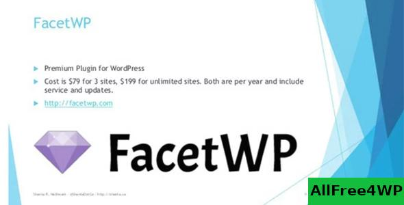 Download 🔝 FacetWP v3.7.1 + Addons