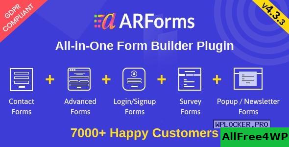 Download 🔝 ARForms v4.3.3 - WordPress Form Builder Pluginnulled