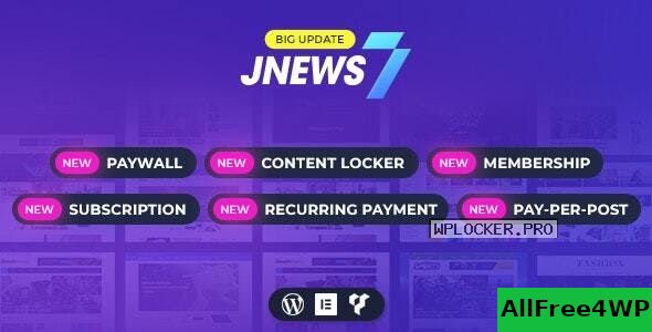 JNews v7.1.9 – WordPress Newspaper Magazine Blog AMP