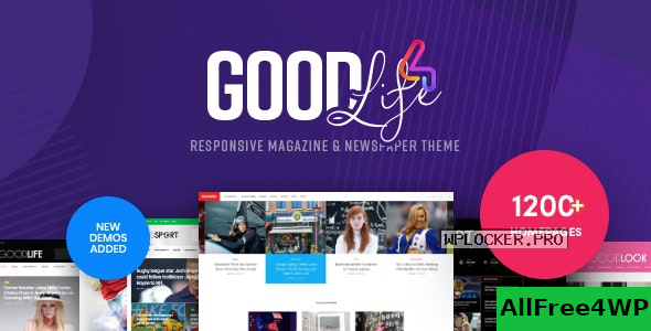 GoodLife v4.5.0 – Responsive Magazine Theme