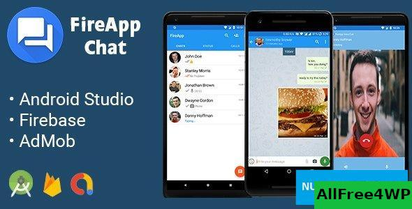 FireApp Chat v1.3.3 - Android Chatting App with Groups Inspired by WhatsApp