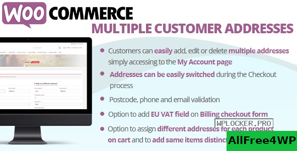 WooCommerce Multiple Customer Addresses v18.5