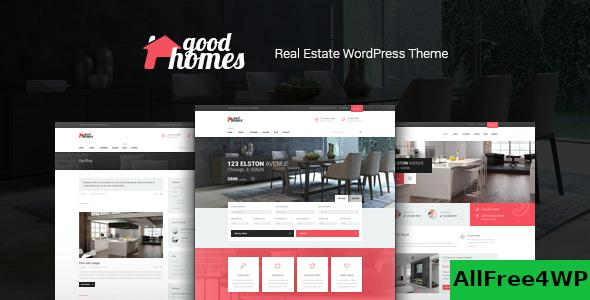 Good Homes v1.3.3 – A Contemporary Real Estate Theme