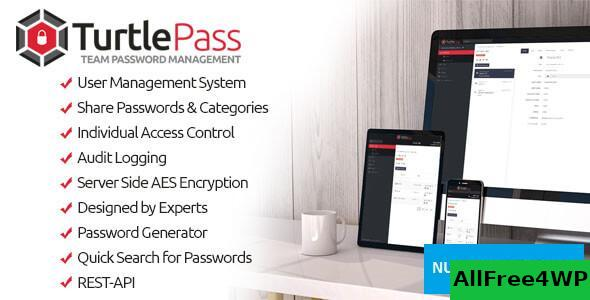 TurtlePass v1.4 - Team Password Manager