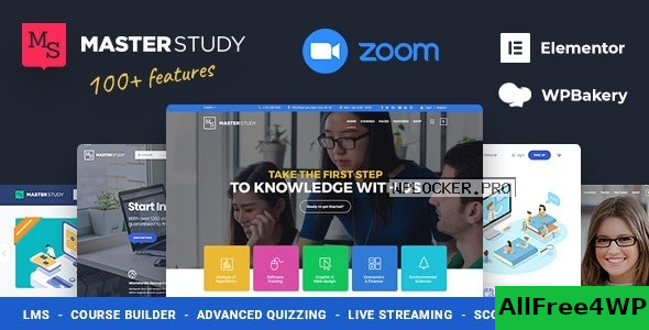 Masterstudy v4.2.2 – Education Center WordPress Theme