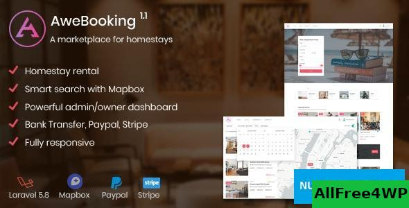 AweBooking v1.3.5 - A marketplace for homestays