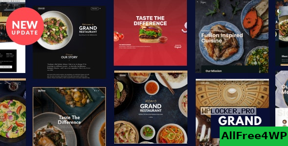 Grand Restaurant v6.0 – Restaurant Cafe Theme