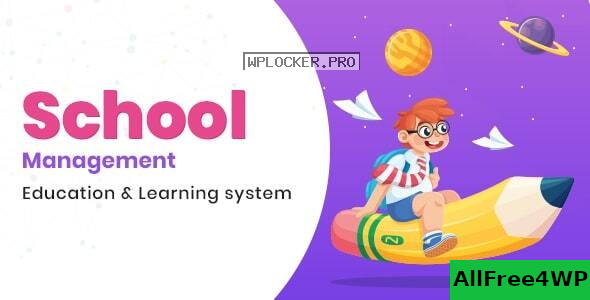 School Management v7.7 – Education & Learning Management system for WordPress